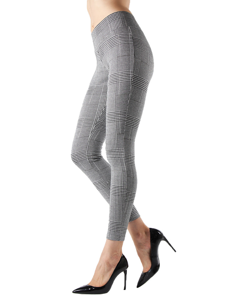 Herringbone Shaping Leggings | Leggings by MeMoi | MJF05440 | Black
