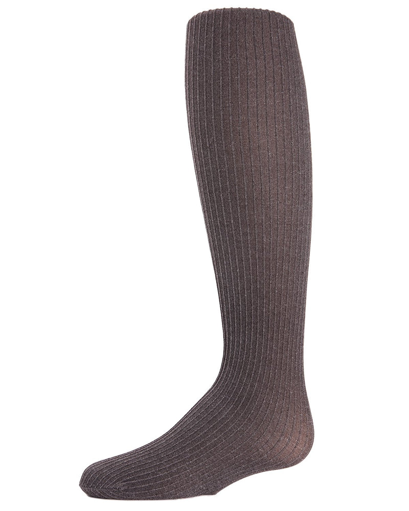 Girls Essentials Ribbed Heather Tights