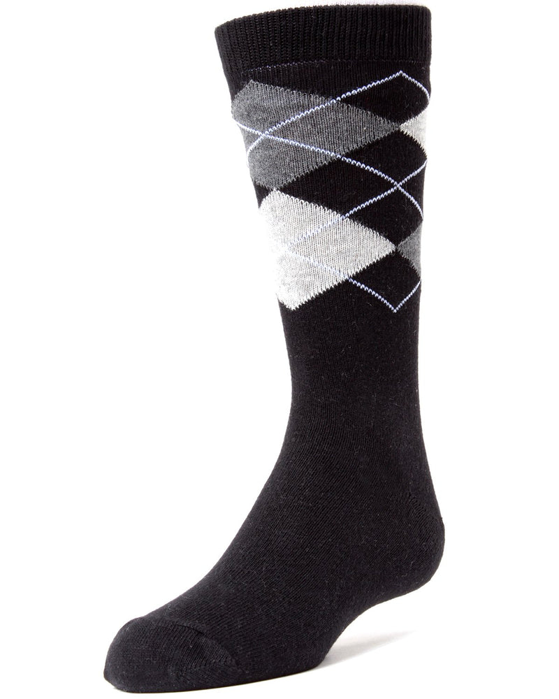 Prim and Preppy Boys Argyle Socks