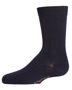 Clocking Argyle Boys Dress Crew Socks