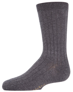 MeMoi Essential Boys Ribbed Socks