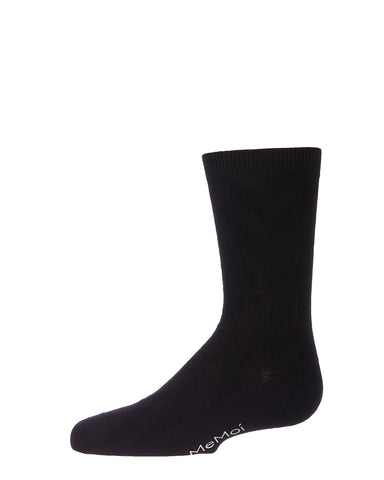 Diamond Bamboo Blend Boy's Crew Socks