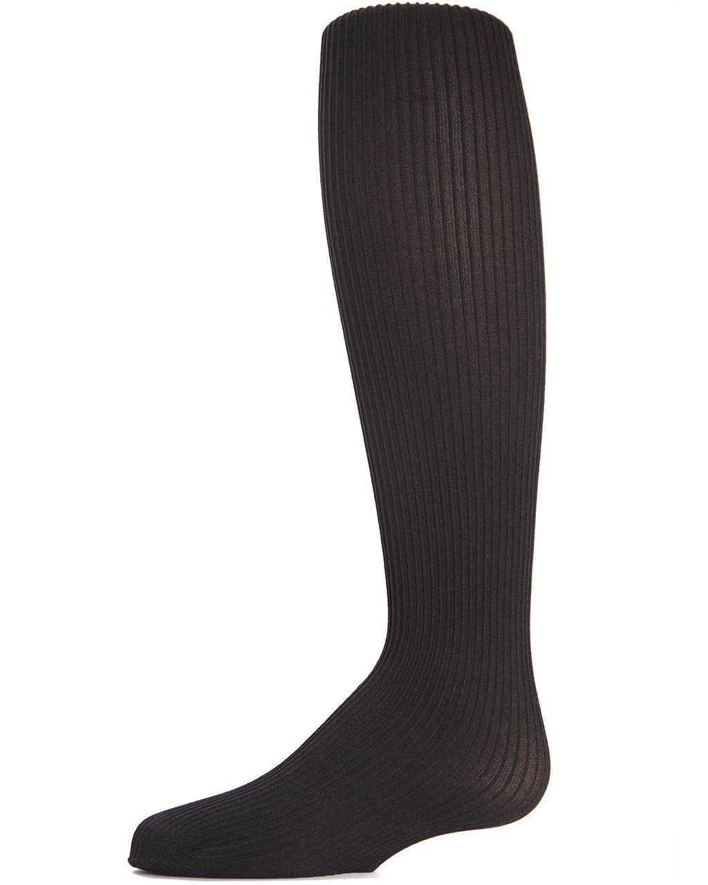 Textured Toes Girls Ribbed Tights