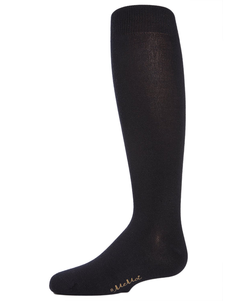 MeMoi Essential Modal Knee High Kids Socks