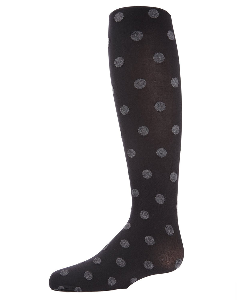 Polka Spot Girls Opaque Tights