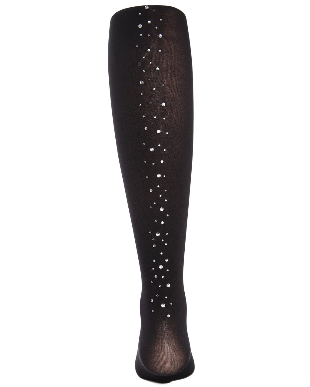 Runway Ready Rhinestone Girls Tights