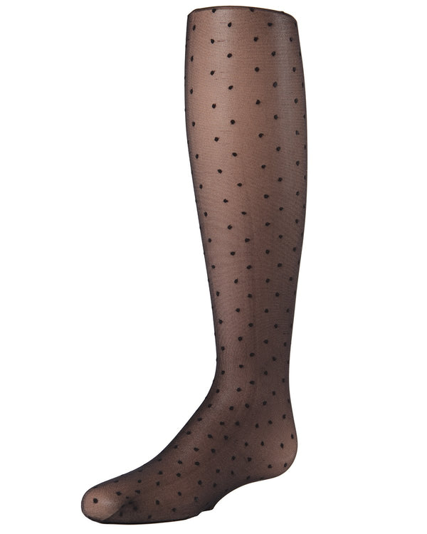 Sweet Mini Dots Girls Sheer Tights