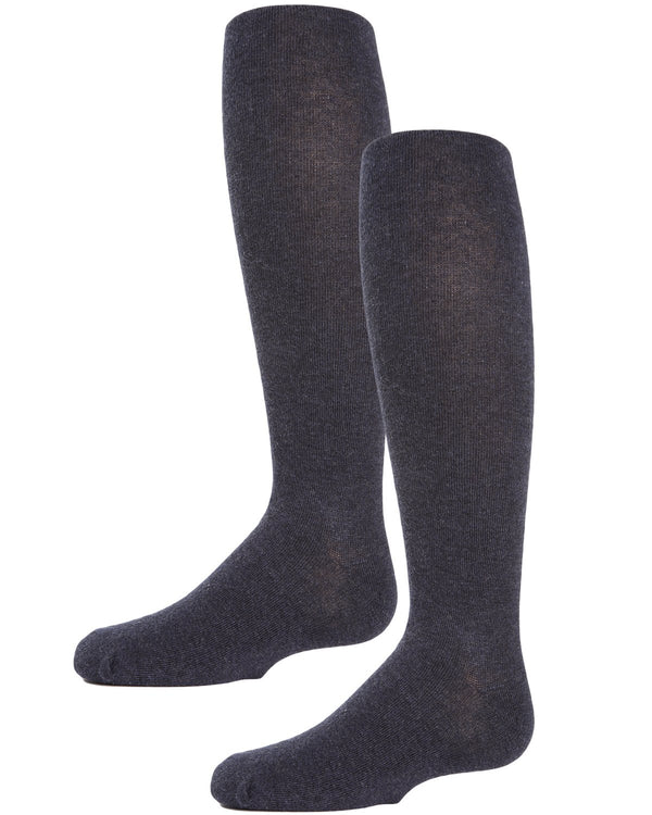 Girls Essentials Cotton Tights Two-pack