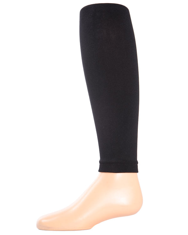 Girls Plush Lined Fleece Footless Tights