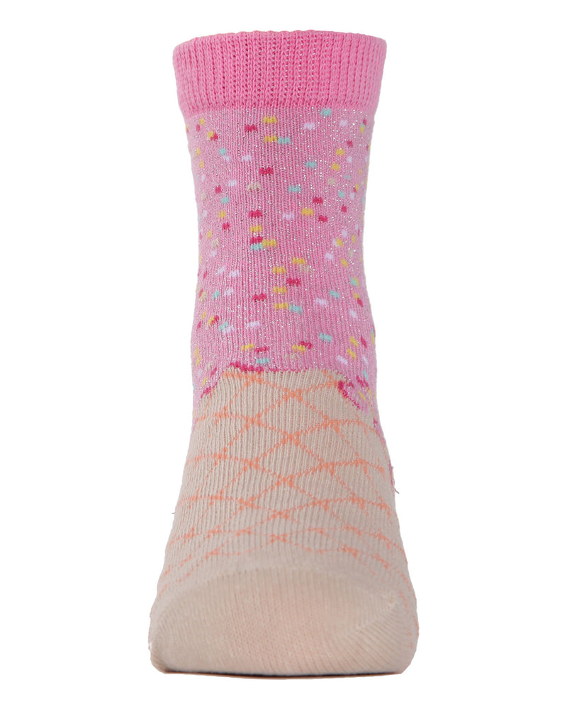 Ice Cream Ankle Socks | MeMoi Ankle Socks for girls |  Assorted MKC 1001 -8