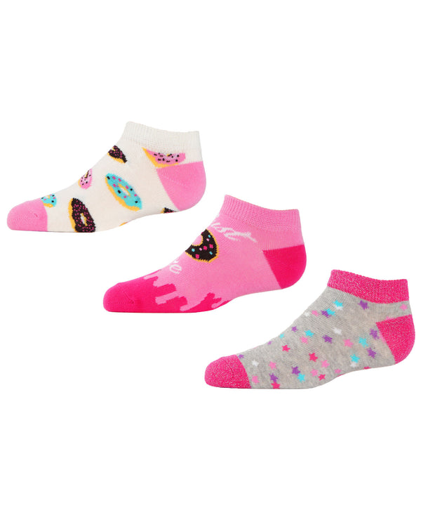 Donut No Show Socks | MeMoi low cut Socks for girls |  Assorted MKC 2000