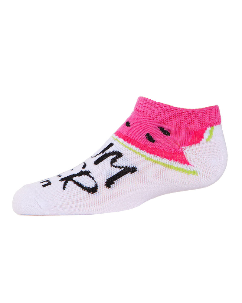 Watermelon No Show Socks | MeMoi low cut Socks for girls | Children's clothes | Assorted MKC 2002 -7