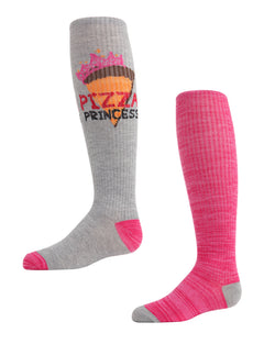 Pizza Princess Knee High Socks | MeMoi knee high Socks for girls |  Assorted MKC 5008
