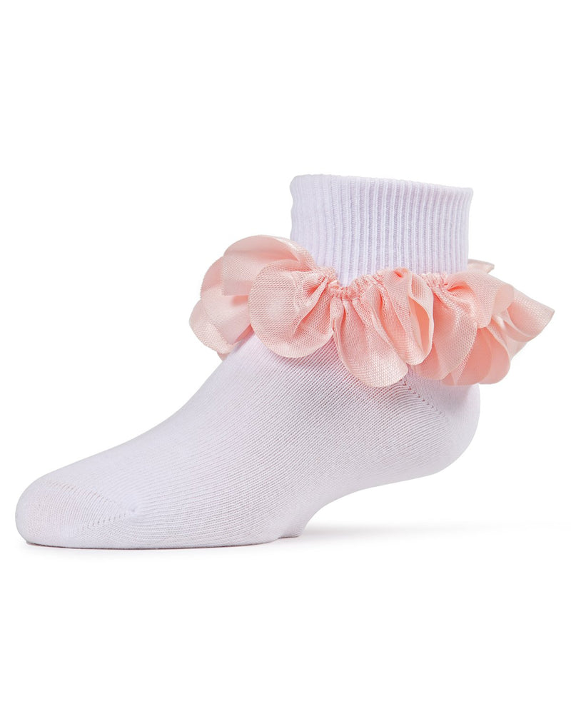 MeMoi Hello Darlin' Flower Petal Girls Anklet Sock