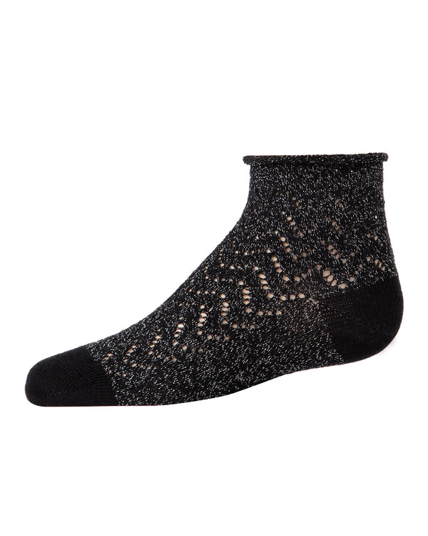 Open Work Anklet Socks