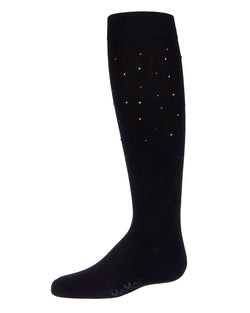 Multi Stone Knee High Socks