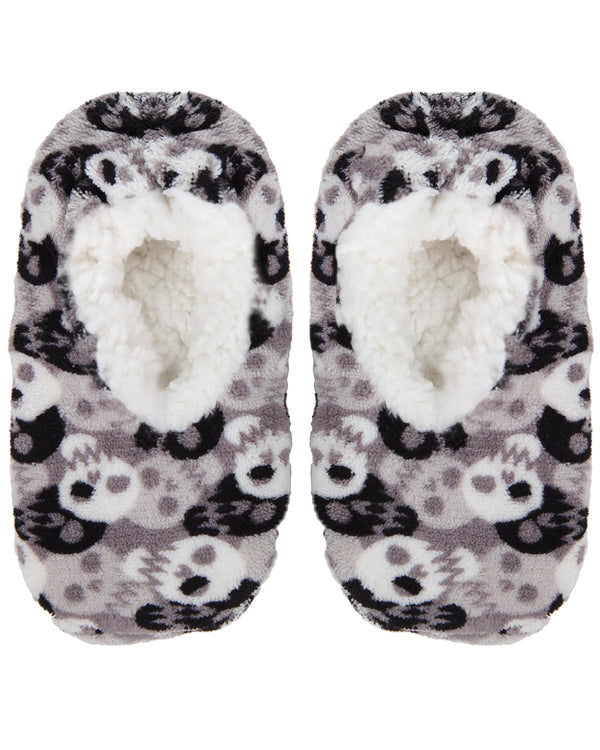 Bones and Skulls Boys Slippers