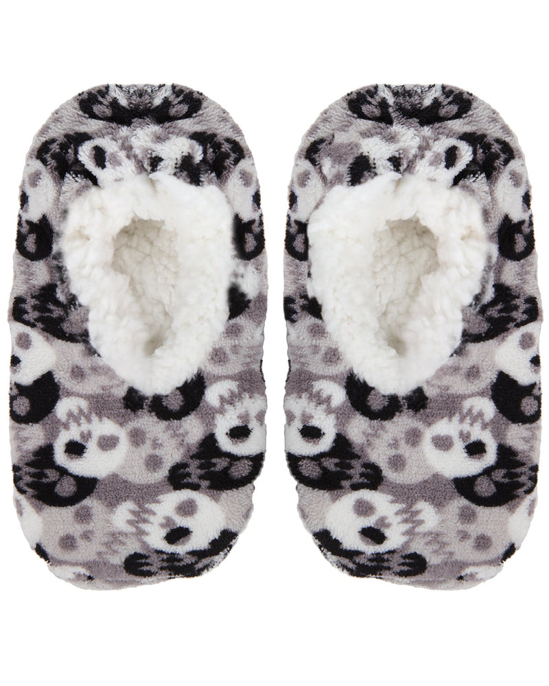 Bones and Skulls Boys Slipper Socks