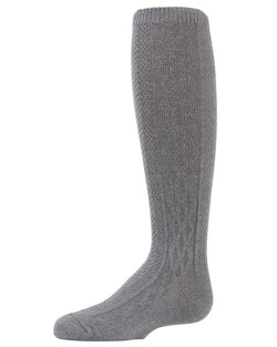 Center Diamond Knee-High Boot Socks