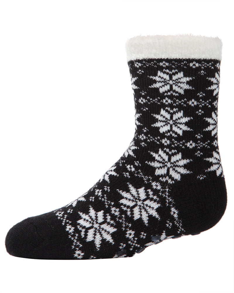 Snowflake Girl's Cozy Socks