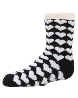 Hearts Galore Girl's Cozy Socks