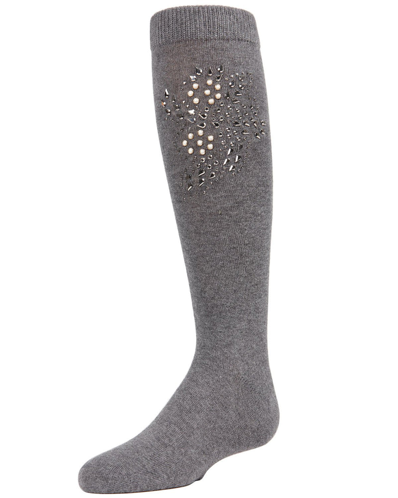 Jewel Mosaic Girls Knee High Socks