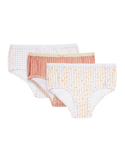 Girl's Printed Briefs | 3 Pair Value Pack