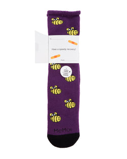 Bee Well Soon Greeting Card Socks
