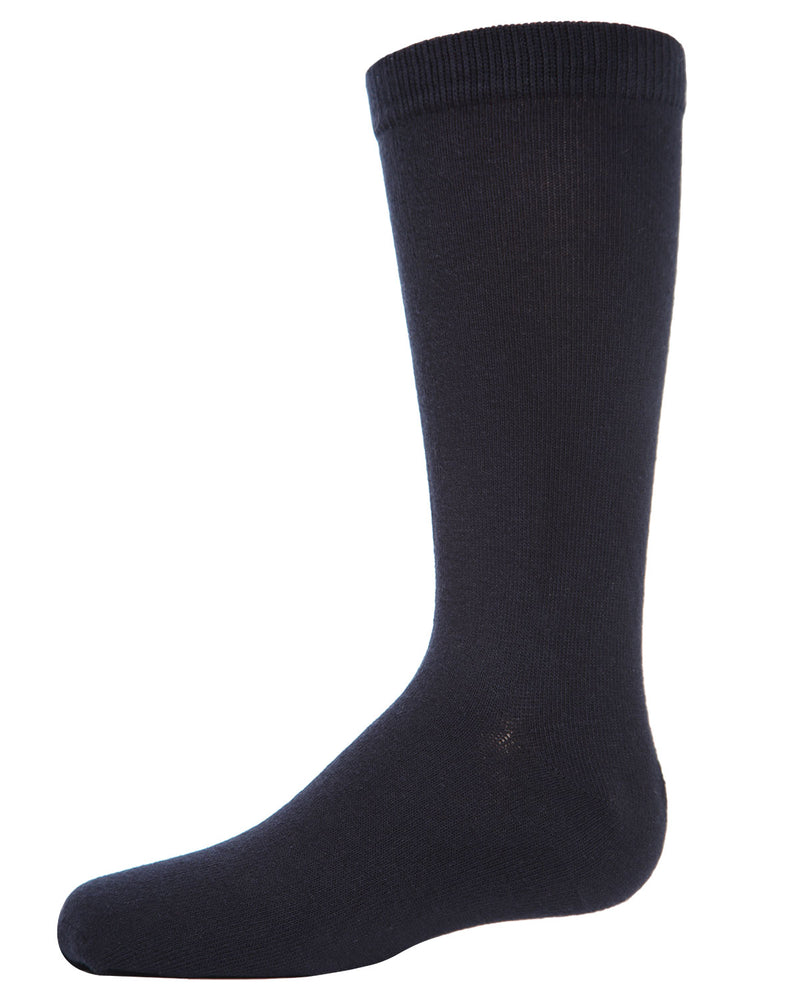 Flat 3-Pack Cotton Boy's Crew Socks