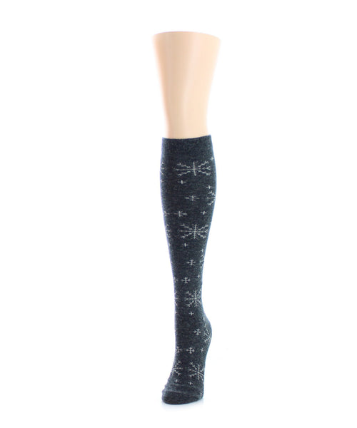Snowy Bliss Wool Knee High - MeMoi
