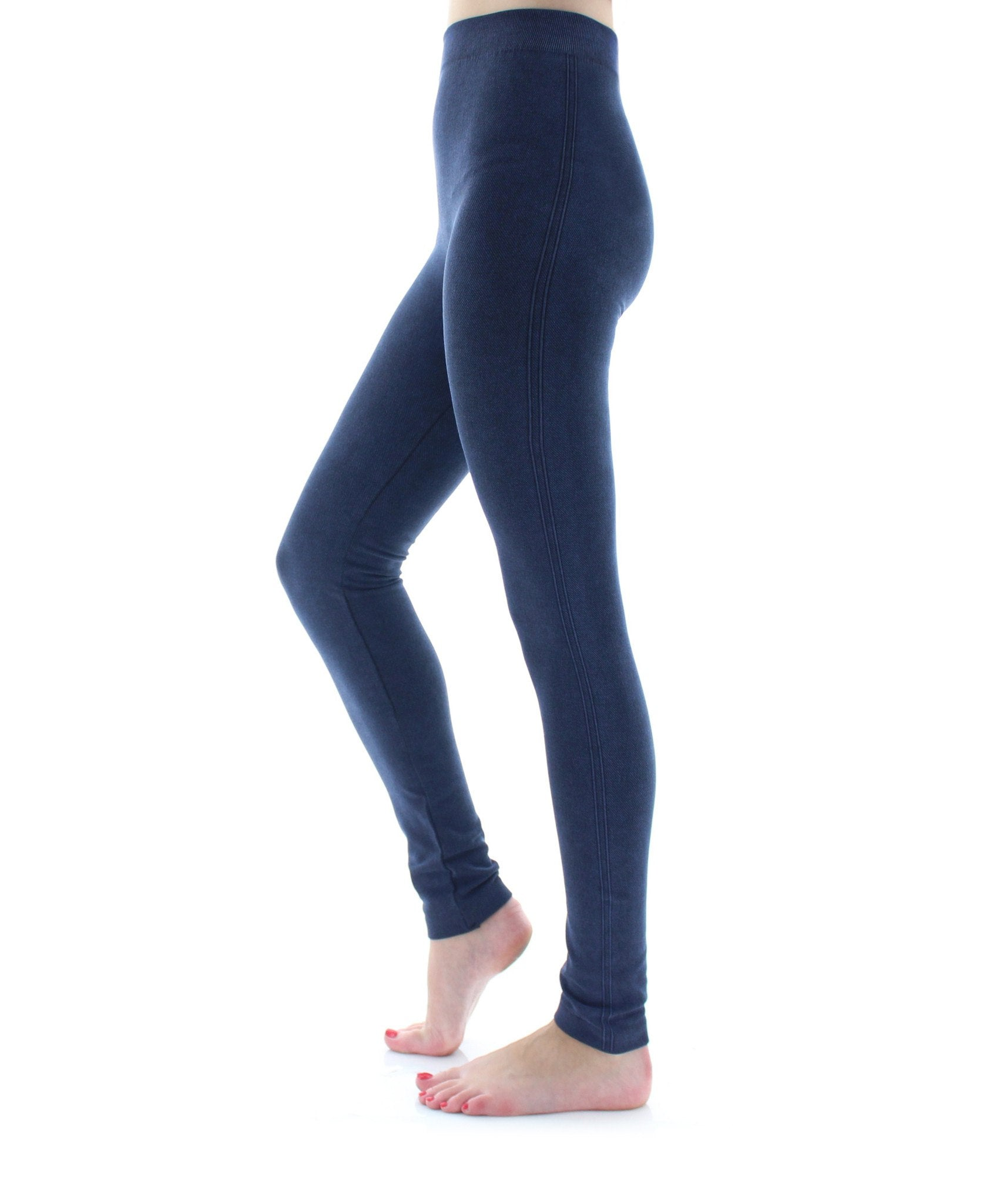 Sandblast Seamless Leggings - MeMoi - 2