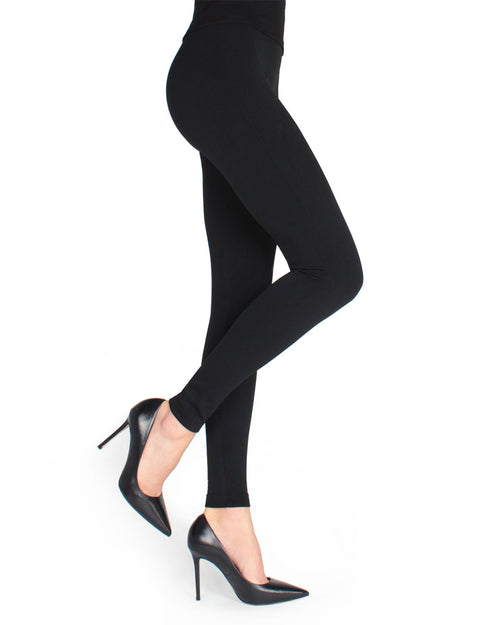Basic Seamless Fleece Lined Leggings