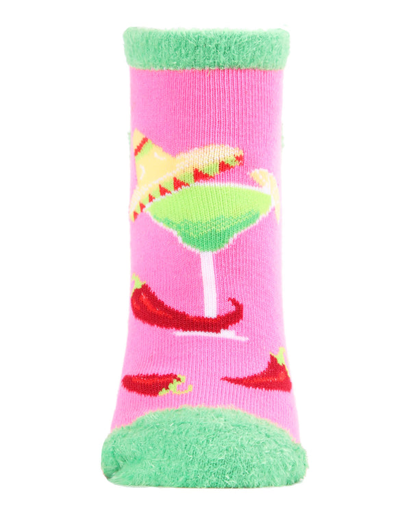 Te Amo Tequila Low Cut Socks | Socks By MeMoi®  | MLV05686 | Sangria