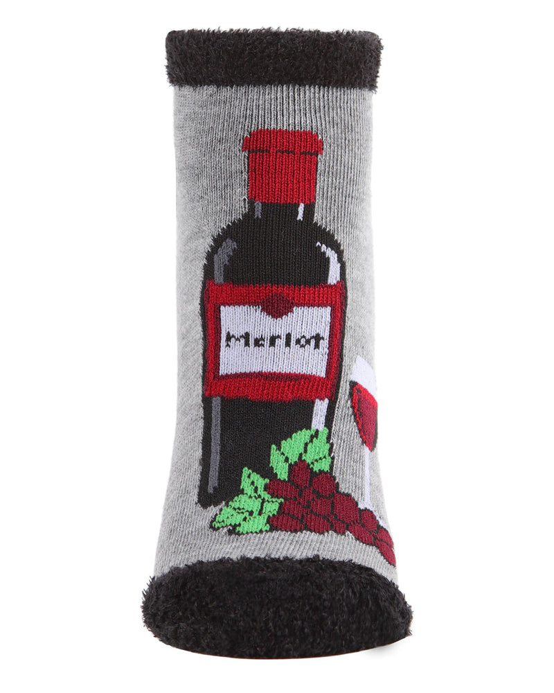 You Had Me At Merlot Low Cut Socks