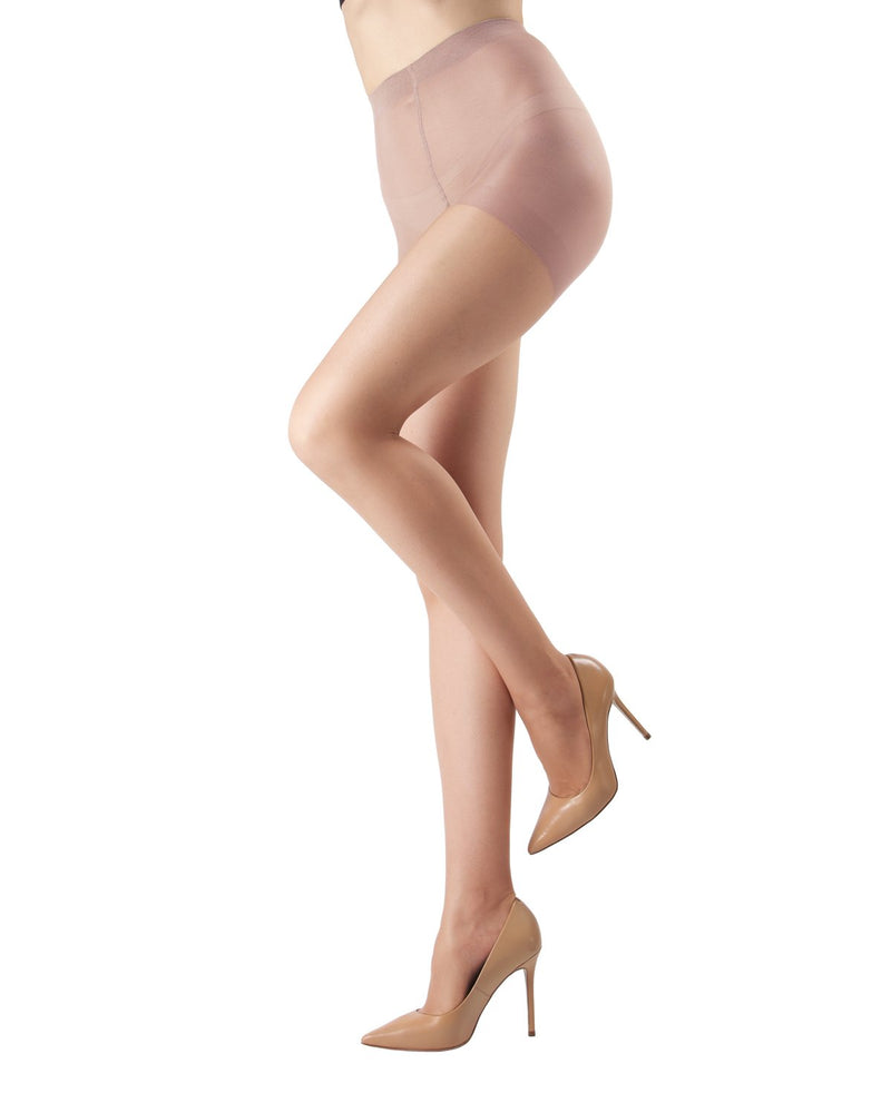 Crystal Sheer Control Top Pantyhose | Best Women's Control Top Hosiery by MeMoi® | Honey MM-210