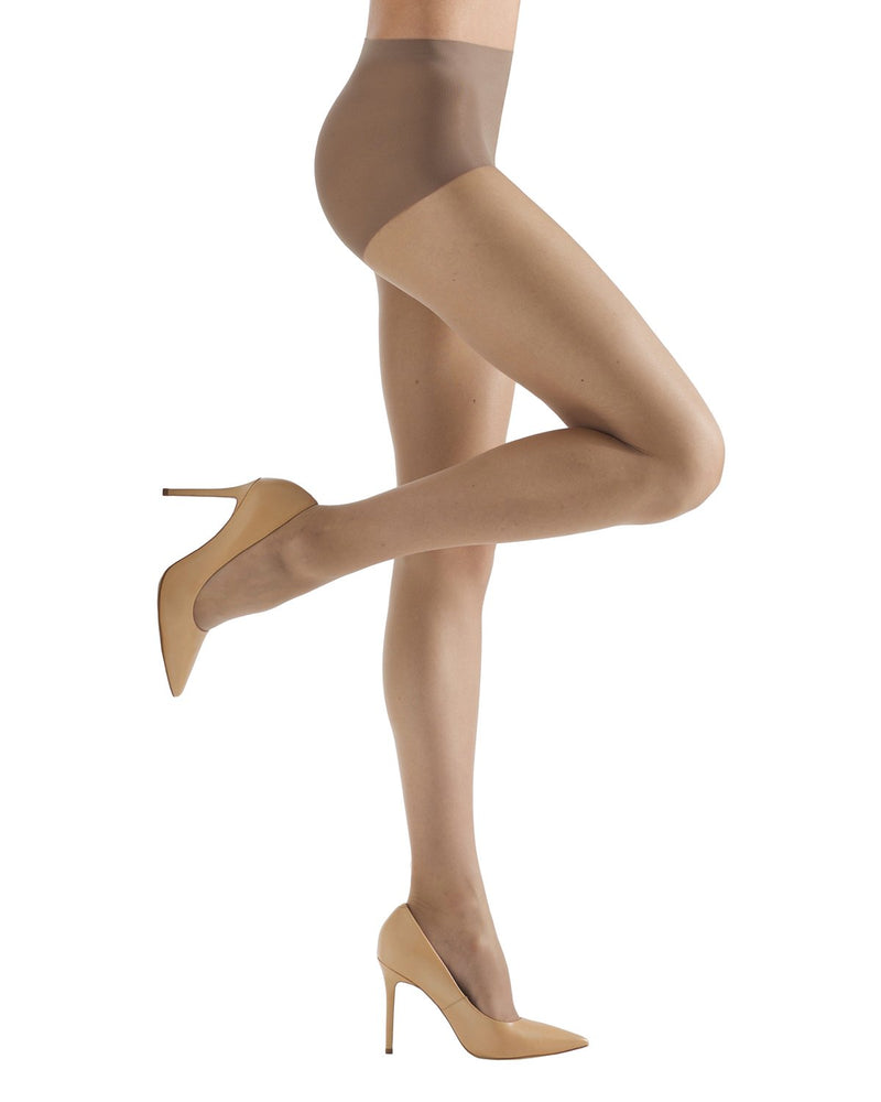 Energizing Light Support Control Top Pantyhose | Women's Sheer Tights by MeMoi® | Womens Clothing | Nude MM-240