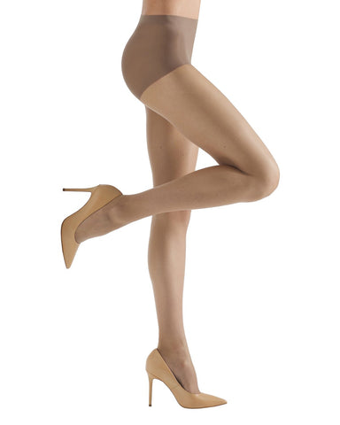 Energizing Light Support Control Top Pantyhose | Women's Sheer Tights by MeMoi® | Womens Clothing | Honey MM-240