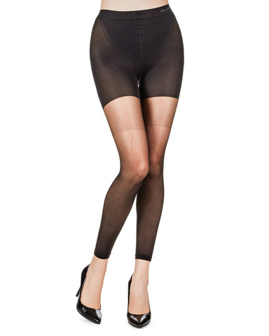 Footless Shaper Sheers | BodySmootHers Compression Tights by MeMoi | Shapewear Tights MM-291