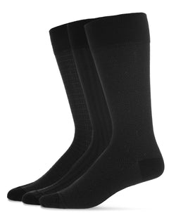 Assorted A 3PP Mens Mercerized Cotton Socks