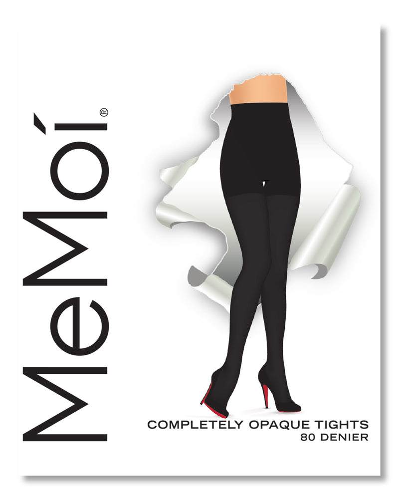 Completely Opaque Control Top Tights