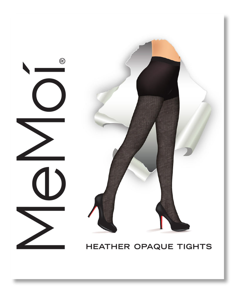 Heather Flat Knit Tights