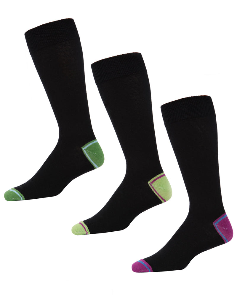Men's V-Tipped Crew Sock 3 Pack