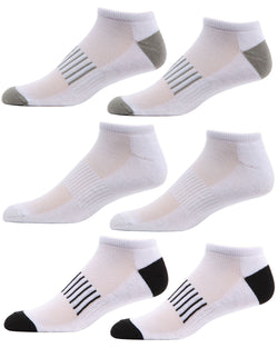 MeMoi Arch Support Low Cut Socks 6-Pack