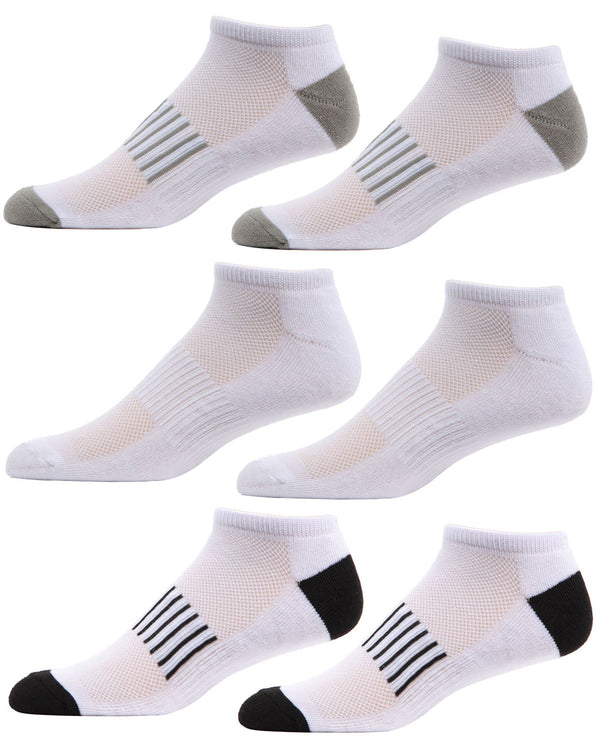 Arch Support 6-Pair Pack Low Cut Socks
