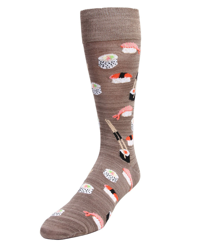 MeMoi Bento Assorted Sushi Socks | Fun Novelty Socks for Men - Sock Game - MMF-000015 Falcon