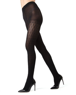 MeMoi Extravagant Diamond Tights | Women's Hosiery - Nylons - Pantyhose
