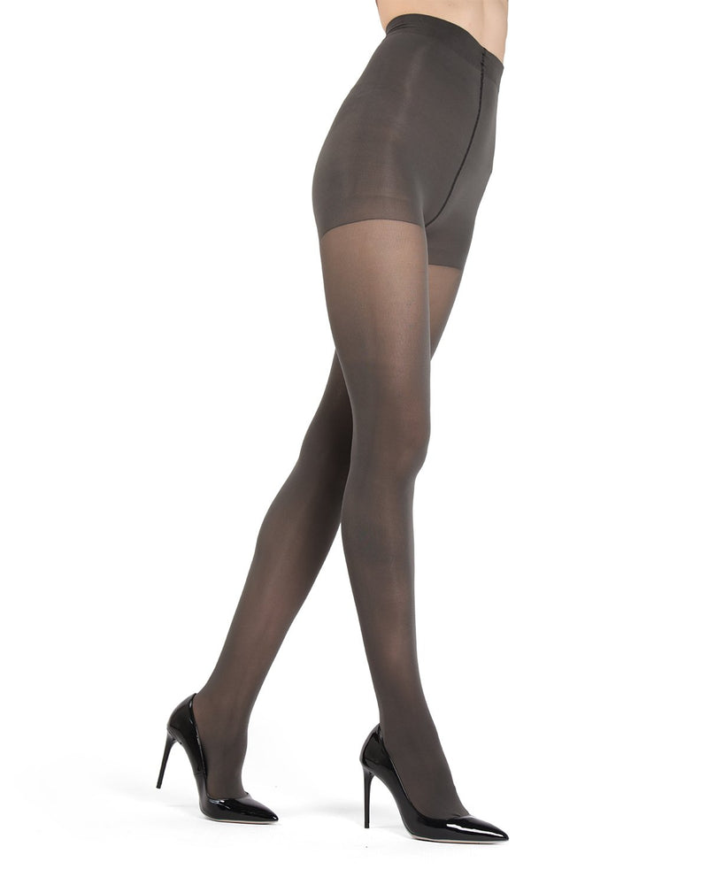 MeMoi Stormy Skies Gloss Opaque Tights | Women's Tights - Hosiery - Pantyhose