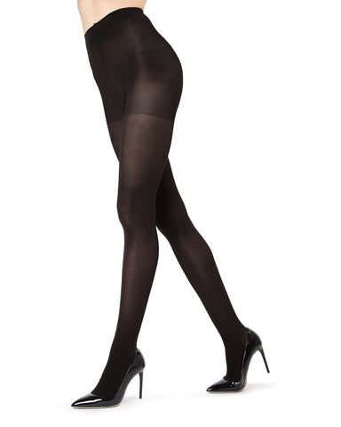 Ultra Black Control Top Tights 2-Pack
