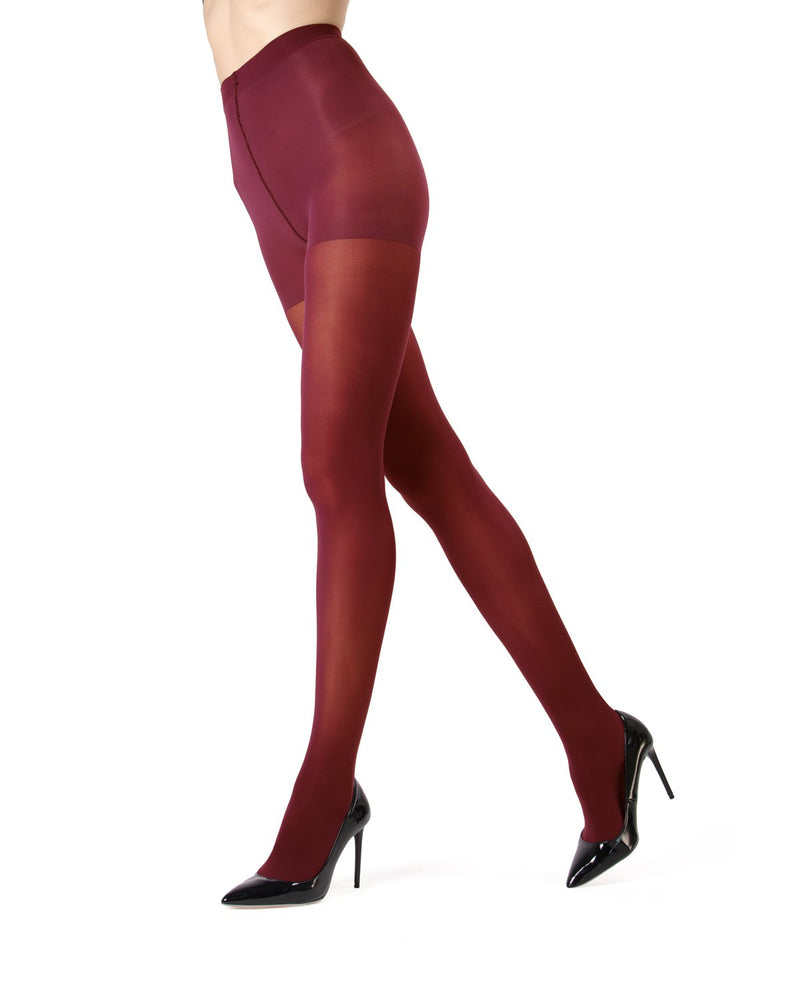 MeMoi | Scooter Perfectly Opaque Control Top Tights | Women's Tights - Pantyhose
