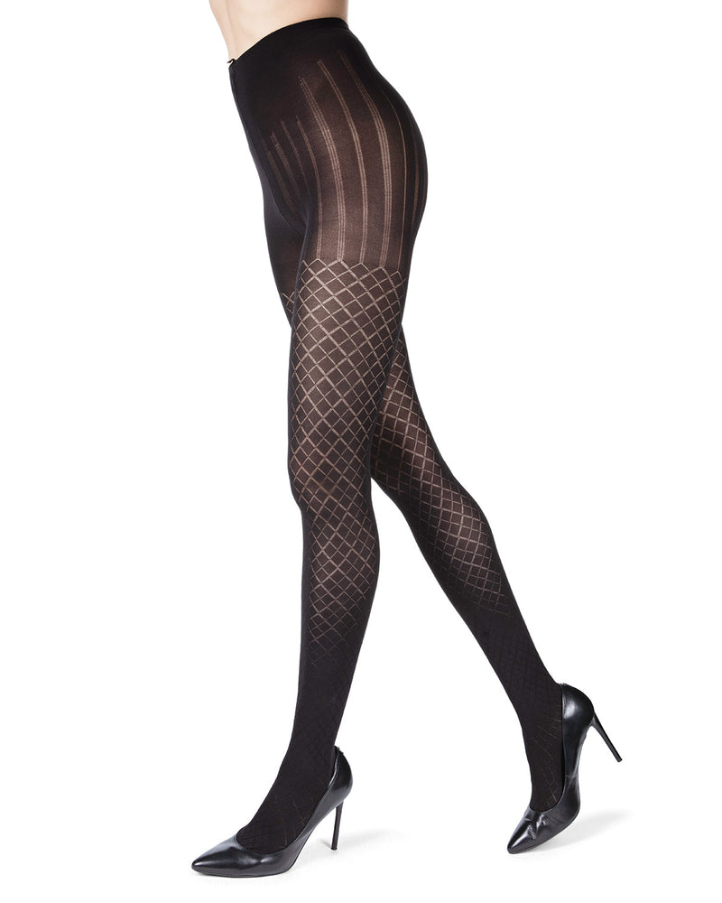 Diamond Argyle Tights